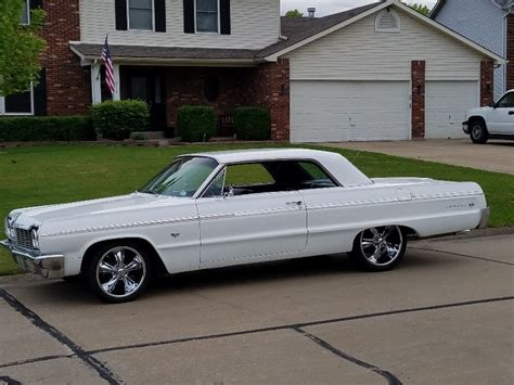 1964 impala wheels 1964 chevrolet impala with foose legends