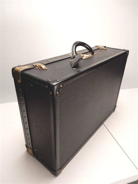 Special Edition Louis Vuitton Epileather special edition louis vuitton epi black leather luggage
