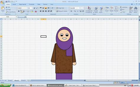 How To Draw Doodle Using Excel