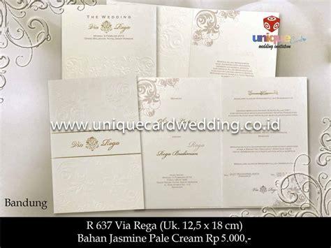 Undangan Pernikahan Wedding Invitation Lipat Tiga undangan pernikahan via rega unique card wedding invitation produk