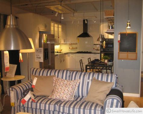 ikea living in small space ikea small house plan 621 square feet