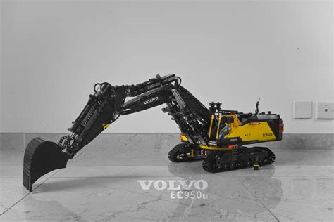 rc volvo moc fully rc volvo ec950el excavator lego technic