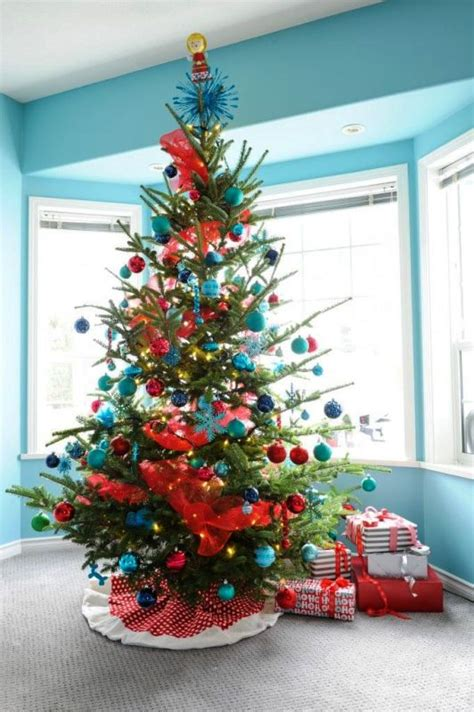 turquoise christmas tree decorations ideas decoration love