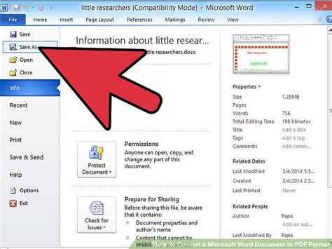 como pasar imagenes a un pdf 7 ways to convert a microsoft word document to pdf format