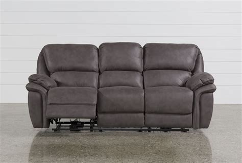 norfolk power reclining loveseat wconsole norfolk power reclining sofa living spaces