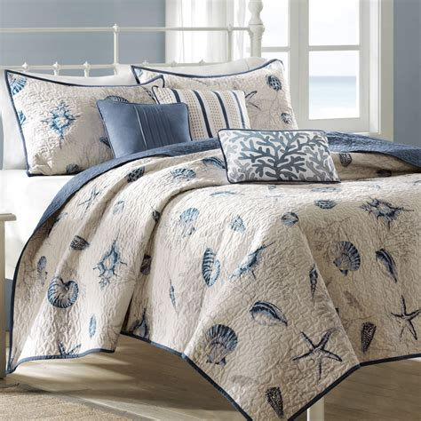 bed bath and beyond coverlet set seashell bedding bed bath and beyond seashell bedding