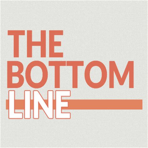 The Bottoms the bottom line wicsbottomline