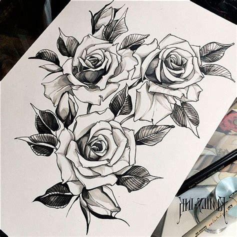 растения цветы тату эскизы фото галерея идеи