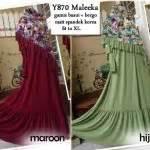 Gamis Busui Dress Wanita Xl Longdress Maxi Ballot Diskon gamis modern minda maxi model busana muslim dress remaja terbaru