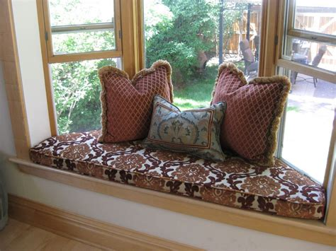 cushions for window bench comfortable cushions for window seats homesfeed