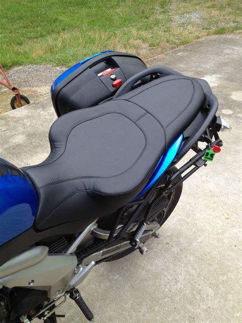 Kawasaki Motorcycle Seats by Kawasaki 650 Versys Custom Flat Seat Ebay