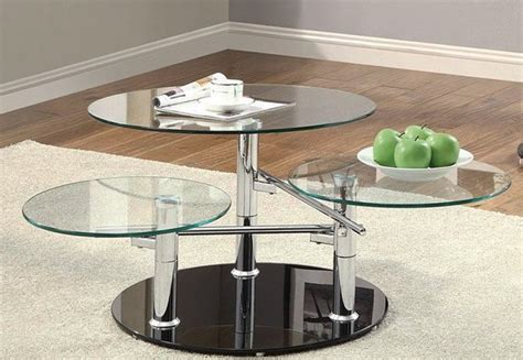 swivel glass coffee table 20 inimitable styles of swiveling glass coffee table