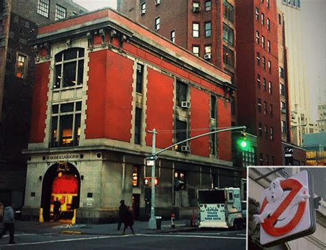 ghostbusters firehouse nyc nate berkus  west  street