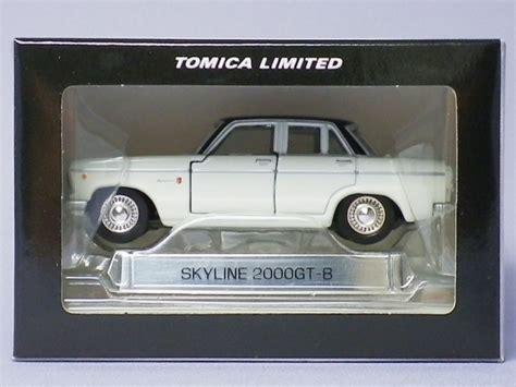 Tomica Limited Nissan Skyline 2000gt B tomica limited skyline 2000gt b 自動車 スタートレックとgpz900r