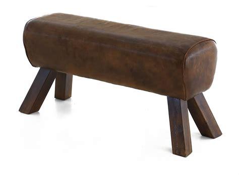 banc en cuir banc en cuir 90 cm montecristo