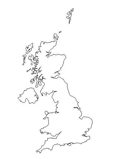 England Map Blank by Free Coloring Pages Of Outline Map Of England