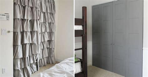 18 closet door 18 closet door makeovers that ll give you closet envy