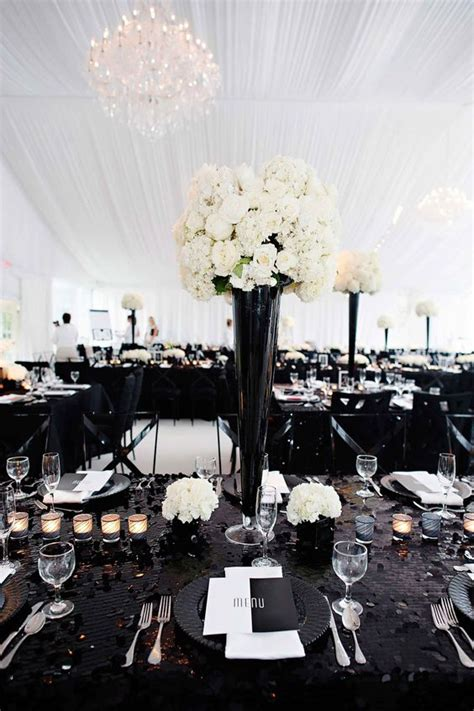 black and white wedding themes pictures black white wedding theme wedding flair