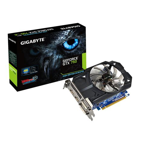 Vga Nvidia Gtx 750 Oc 2gb Ddr5 128bit gigabyte geforce gtx 750 oc 2gb gddr5 tarjeta gr 225 fica