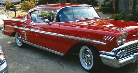 Size Of 2 Car Garage by 1958 Chevrolet Impala 1 Tulsaregionaaca Org