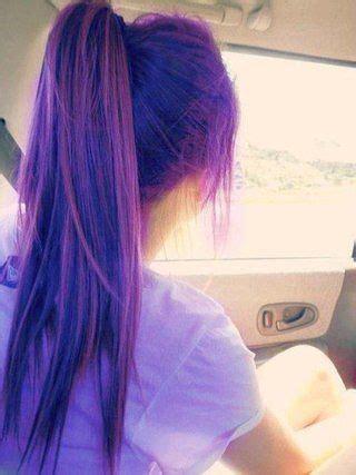 hair color   marvelous purple hair  chic