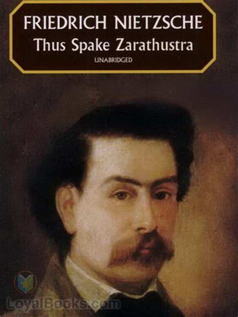 thus spoke zarathustra books thus spake zarathustra a book for all and none by