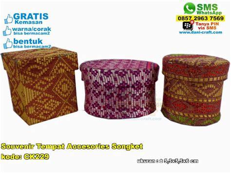 Quality Souvenir Pernikahan Kotak Perhiasan Bahan Songket souvenir tempat accesories songket souvenir pernikahan