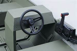 Steering Wheel Kit For Aluminum Boat Aluminum Boat With Side Console