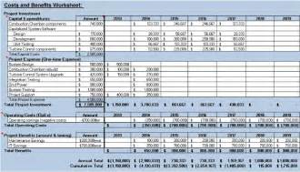 cost price analysis template 5 cost benefit analysis templates excel pdf formats