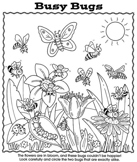 garden bugs coloring pages coloring circles and coloring books on pinterest