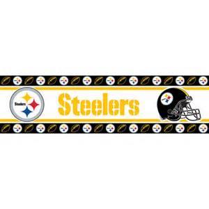 Pittsburgh Steelers NFL Peel and Stick Wall Border