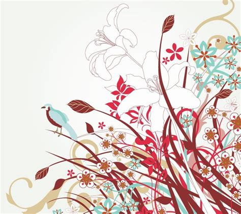 design art free free floral vector art free vector graphics all free