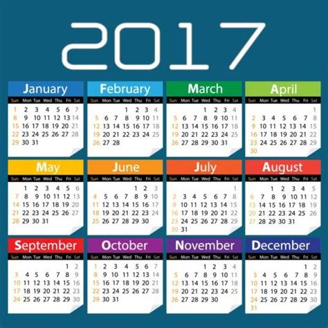 New Year Calendar 2017 New Year Calendar Calendar For New Year New Year