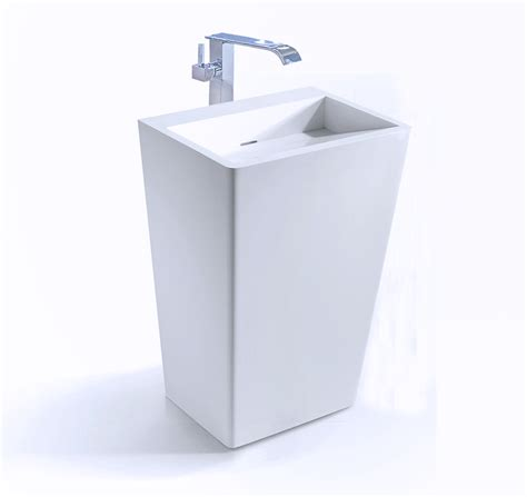 Modern Pedestal Bathroom Sinks Modern Pedestal Sink Fazio Ii