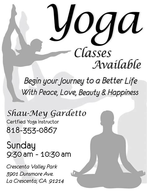 templates for yoga yoga flyer by trevoycana on deviantart