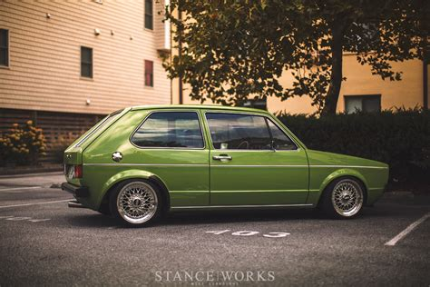 volkswagen rabbit custom jes and kris clewell s 1980 volkswagen mk1 rabbit