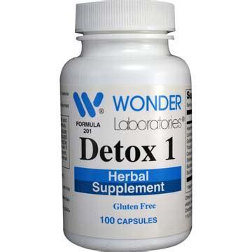 Herbal Supplements Detox by Detox 1 Herbal Supplement 100 Capsules Item 2013