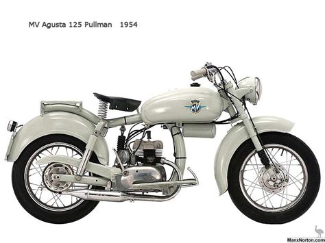 motorcycles of the 20th century mv agusta pullman 1954 by 20th century motorcycles