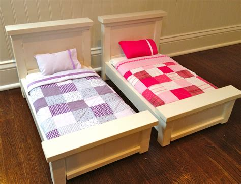 That S My Letter Quot B Quot Is For Bed 8 9 Diy American Doll Bed
