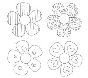 flower template 17 paper flower templates free pdf documents