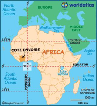 ivory coast on the map cote d ivoire map geography of cote d ivoire map of