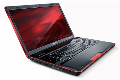 the toshiba qosmio x505 features a striking design on the outside and is packed with premium