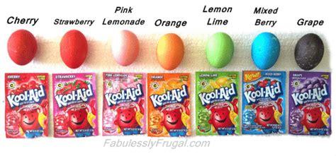 kool aid colors quot kool quot way to dye easter eggs