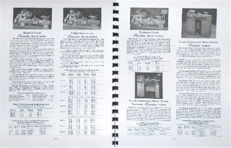 South Bend 9 Quot Amp 10 Quot Metal Lathe Parts Manual And Catalog