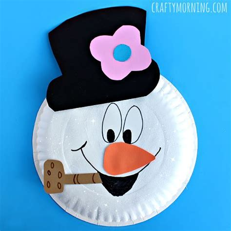 How To Make A Snowman Out Of Paper - 17 best images about make crafts with on
