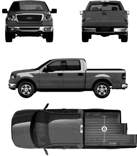 Ford F150 Raptor Blueprints Ford Raptor Template