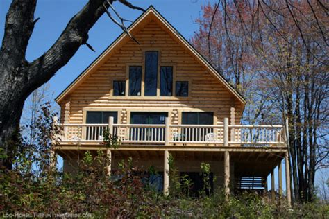 log home plans with walkout basement