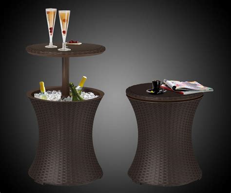 cooler table outdoor cooler table dudeiwantthat