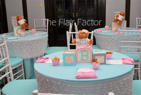 Table Centerpieces For Baby Shower by F 234 Te Fanatic Baby Shower Building Our Family Block By Block