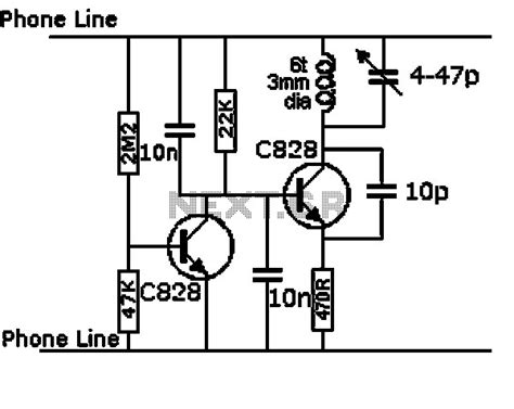 uhf vhf tv signal booster lifier circuit diagram wiring